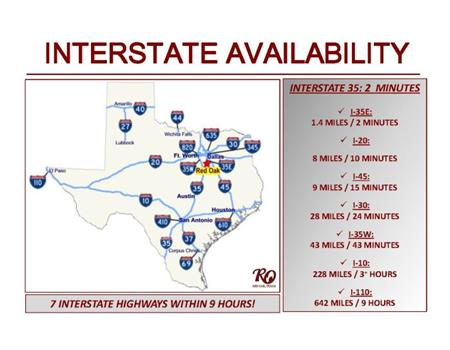 Interstate Map