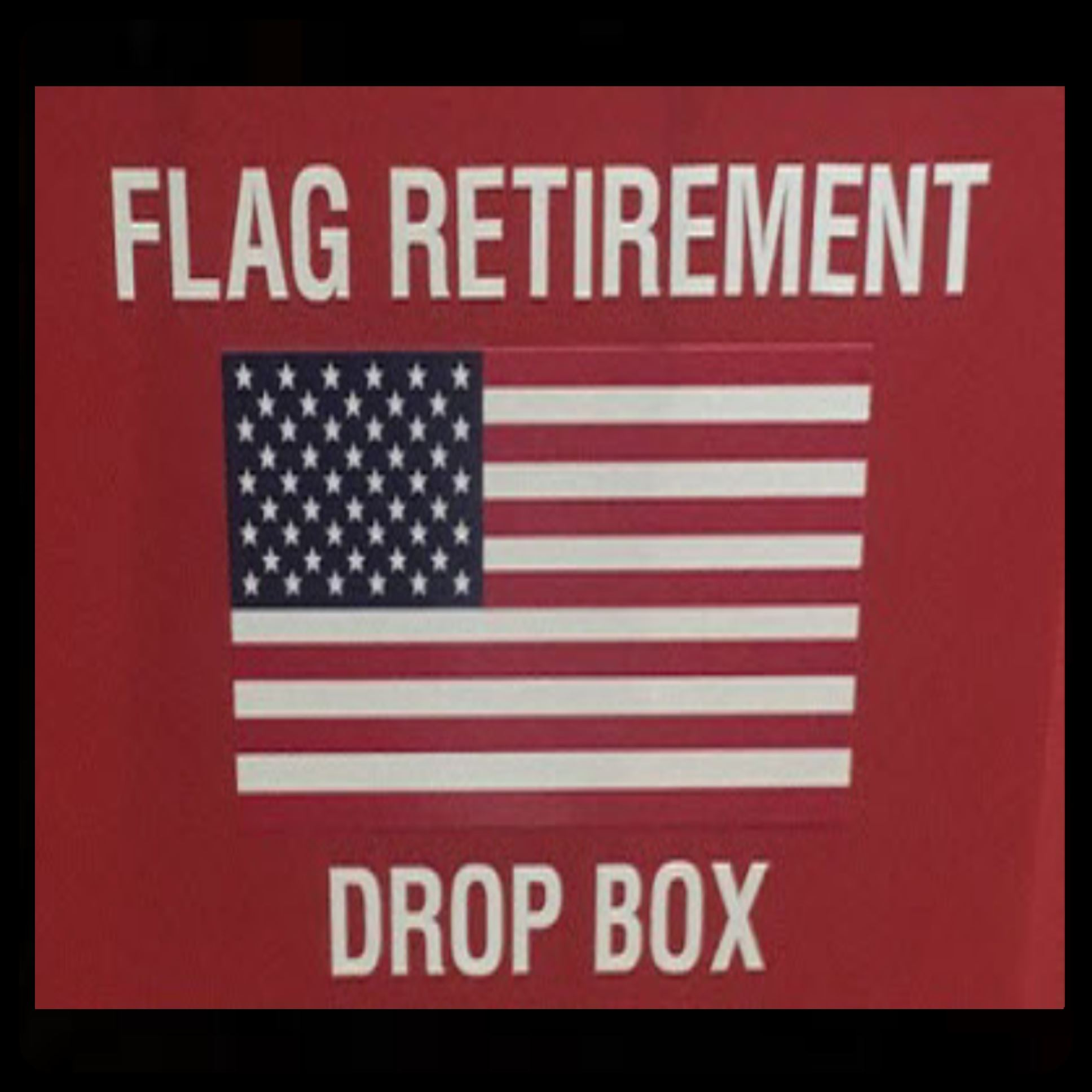 Flag Retirement ogo