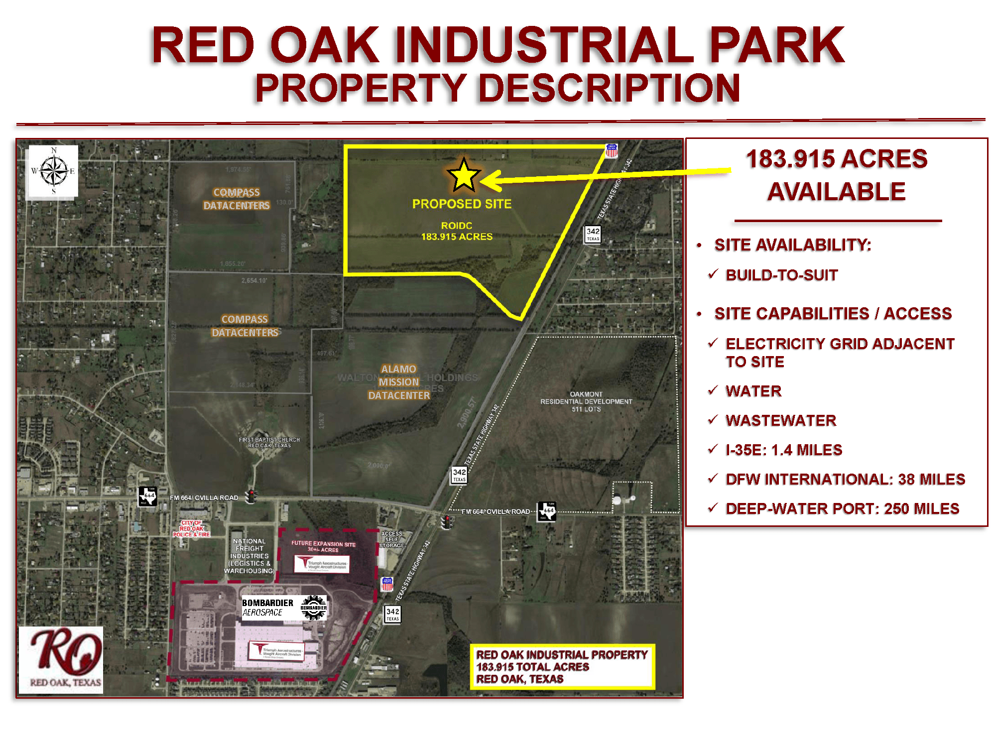 183 ACRE INDUSTRIAL PROPERTY